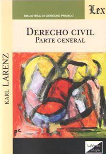 DERECHO CIVIL. PARTE GENERAL (LARENZ 2019) *